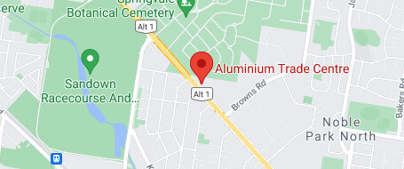 map showing our Noble Park location